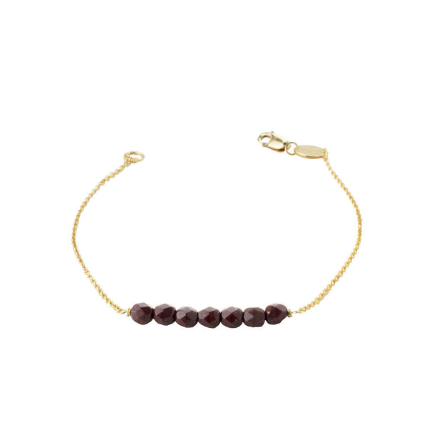 Friendship Bracelet - Oxblood