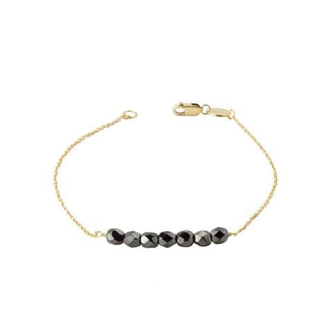 Friendship Bracelet - Gunmetal