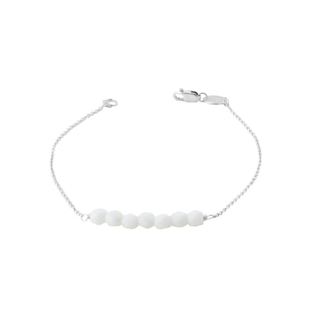 Friendship Bracelet - White