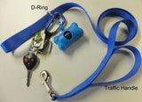 "Designer Pattern Traffic Handler Dog Leashes 1""  and 3/4"" Widths"