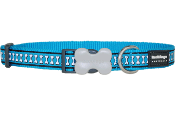 Reflective Dog Bone Collars