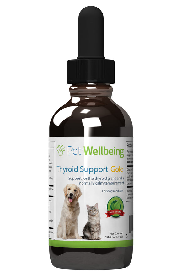 Thyroid Support Gold - Dog and Cat Hyperthyroidism Support