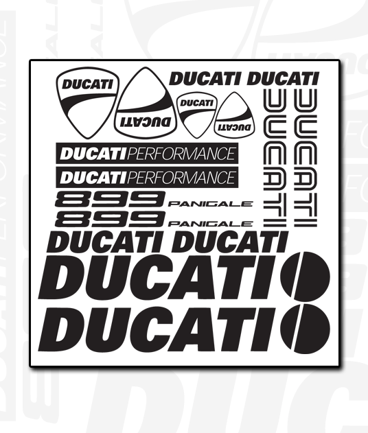 DUCATI Decal Sheet