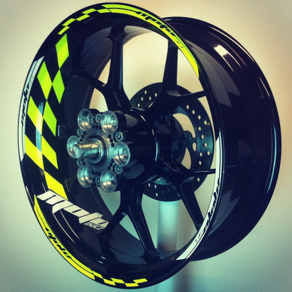 Gp Racing Wheel Stripes Design 1 Motoinkz