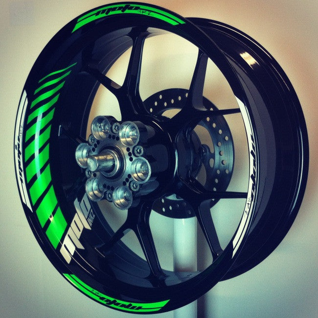 GP Racing Wheel Stripes design 2
