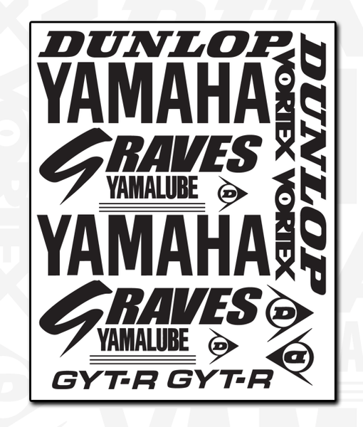 YAMAHA Decal Set 1