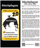 "Black Plague 2.0  Crease Tab 4.3"" or 110mm"
