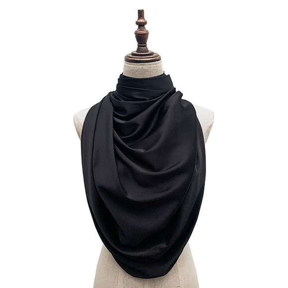 Luxe Satin Silk Lush - Black