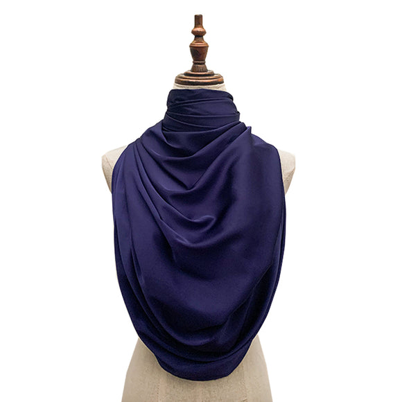 Luxe Satin Silk Lush - Berry Blue