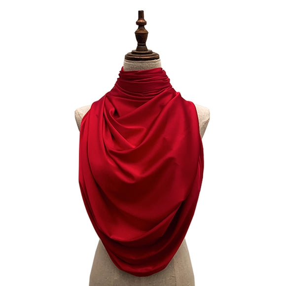 Luxe Satin Silk Lush - Red