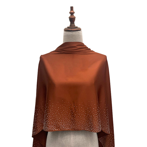 Stellar Shawl - Cinnamon Brown