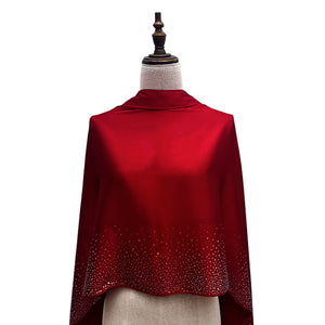 Stellar Shawl - Red