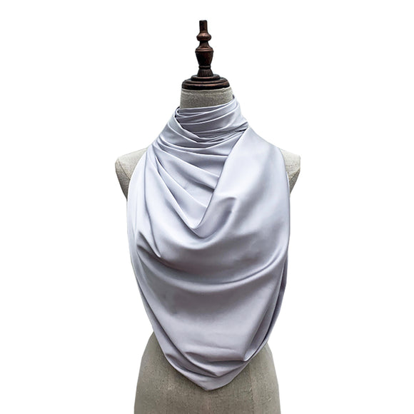 Luxe Satin Silk Lush - Light Grey
