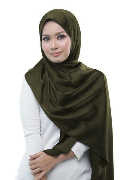 Lush Shawl - Army Green