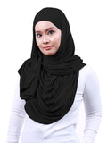 Arissa Cotton Shawl - Black