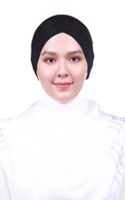 Snow Cap Tie Back Inner - Black (Cross Awning)