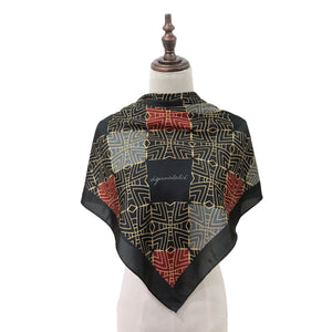 [PRE ORDER] Traditional Teja Square Shawl in Black