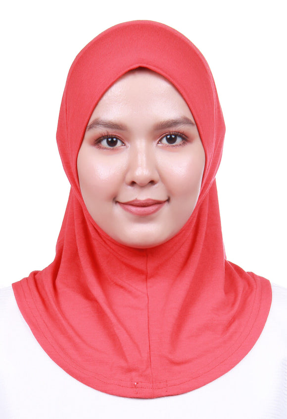Scarf Inner - Chili Red