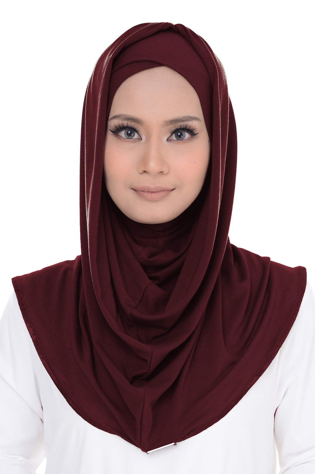 Dahlia with Cross Awning - Maroon