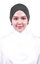 Snow Cap Tie Back Inner - Dark Grey (Cross Awning)