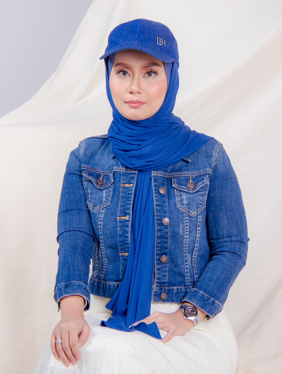 Hijabcap in Denim Blue