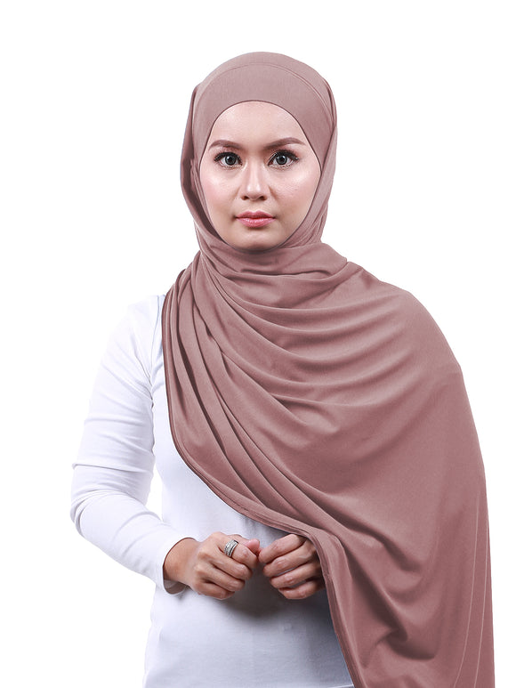 Arissa Cotton Shawl - Dusty Pink