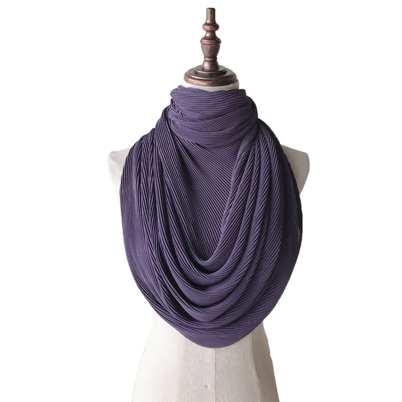 Lush Pleats - Dusty Purple