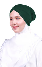 Snow Cap Tie Back Inner - Emerald Green (Cross Awning)