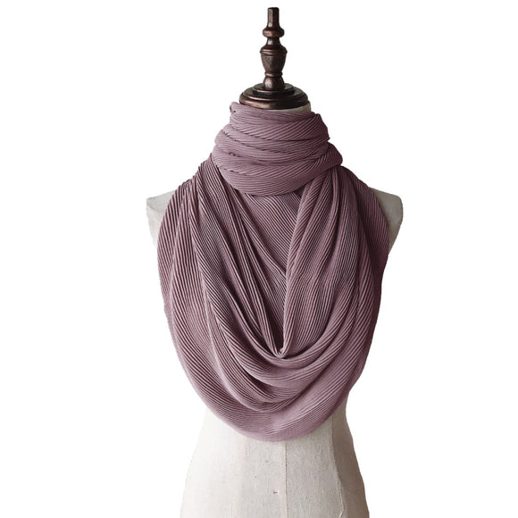 Lush Pleats - Lilac Grey