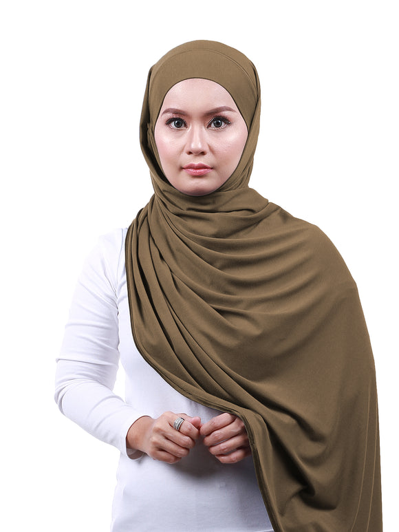 Arissa Cotton Shawl - Latte