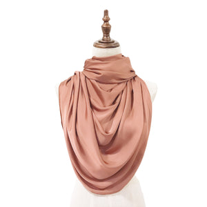 Luxe Satin Silk Lush in Apricot