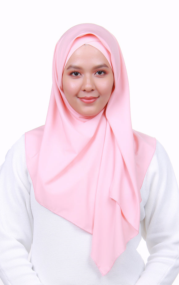 Instant Square Crepe - Soft Pink