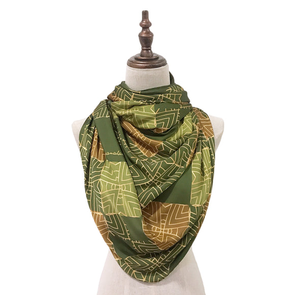 Traditional Teja Lush in Olive Green