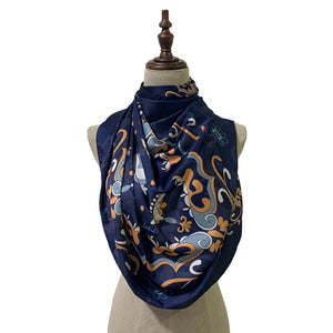 Arab - Lush Nawal in Navy Blue