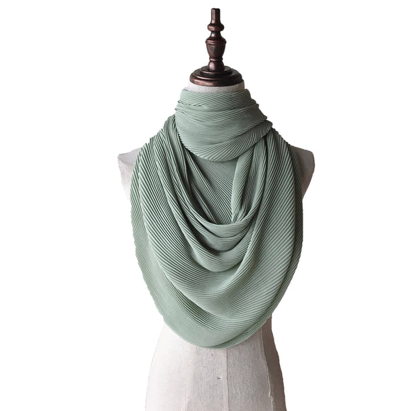 Lush Pleats - Mint Green