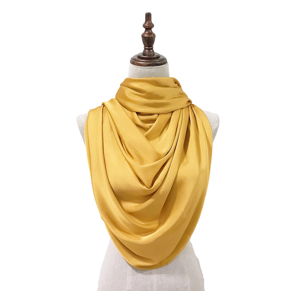 Luxe Satin Silk Lush in Mustard