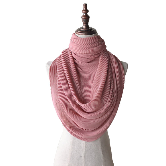 Lush Pleats - Blush Pink