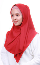 Instant Square Crepe - Red