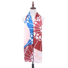 Japan - Red Cherry Blossom Wagasa (Shawl)