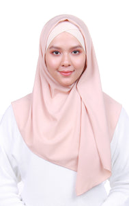 Instant Square Crepe - Light Beige