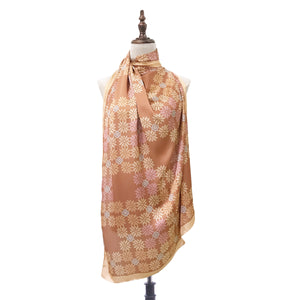 Songket Melur Shawl in Bronze