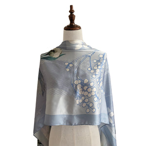 Shawl Prairie - Light Blue
