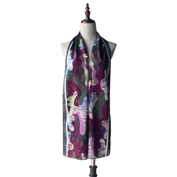 Printed Shawl - Camo Tropical in Sweet Flora