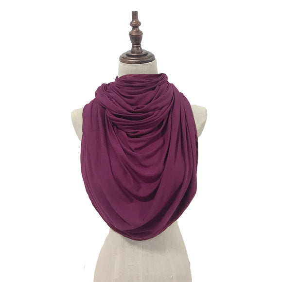 Lush Cotton in Sweet Plum