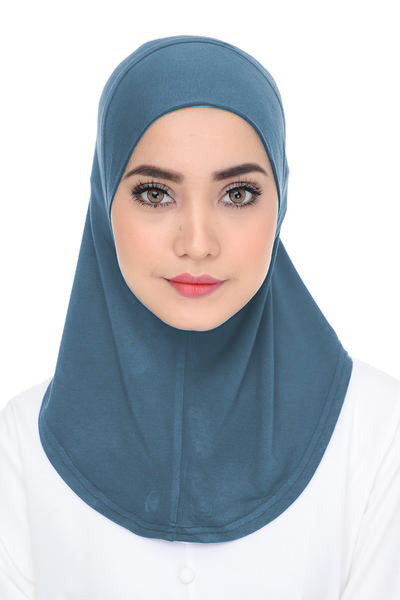 Scarf Inner - Dusty Blue