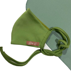 DWI Cotton Face Mask - Olive Green