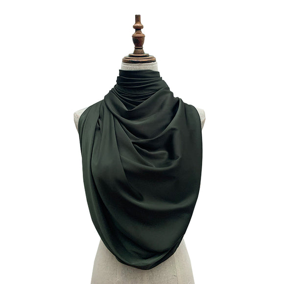 Luxe Satin Silk Lush - Army Green