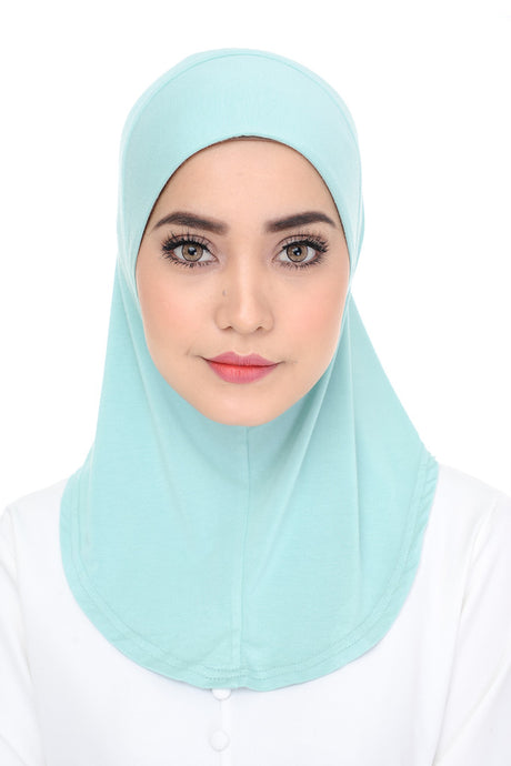 Scarf Inner - Mint Blue
