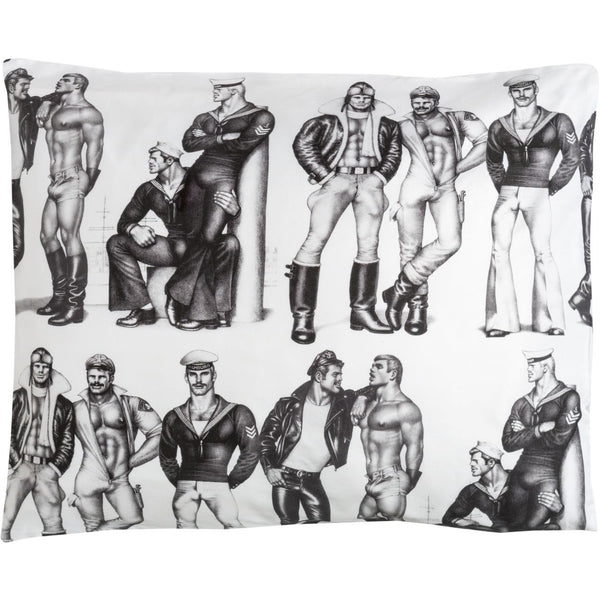 """Fellows"" Pillow Cover"