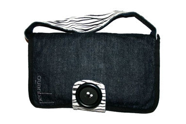 Pequeño Nappy Purse - Cebra - PRICE REDUCED TO CLEAR